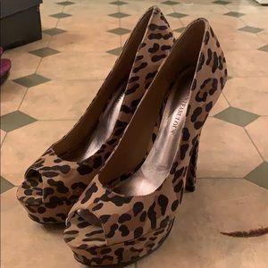 Cheetah Print Platforms